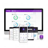 La plateforme Insight de Netgear est disponible en SaaS ou via une application mobile. (Crédit : Netgear)