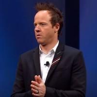 Ryan Smith, co-fondateur et CEO de Qualtrics, dispose d'une certaine autonomie pour gérer son entreprise rachetée par SAP en novembre 2018 pour 8 milliards de dollars. (crédit : SAP)