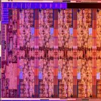 Le die de l'Intel Core i9-10850K Comet Lake S est principalement occupé par les 10 cœurs x86. (Crédit : Intel)