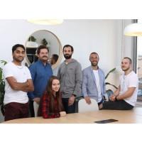 L'équipe de BLC Conseil avec ses trois fondateurs, dont Baptiste Carpentier Agostini, son responsable marketing et commercial, au centre. (Crédit : BLC Conseil)