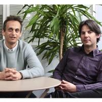 Raphaël Maurice (à gauche), DG associé de Céleris, et Erwan Quimbert, directeur technique de l'entreprise. Crédit photo : D.R.