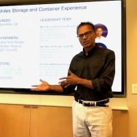 Murli Thirumale, cofondateur et CEO de Portworx, a négocié la cession de sa start-up à Pure Storage. (Crédit S.L.)