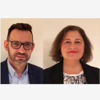 Chez InMac, Jacques Théfo laisse son fauteuil de président à Laurent Courteaud et Isabelle Allegaert. (Crédit D.R.)
