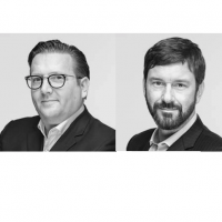 Les deux cofondateurs de SEC Consult, Clemens Foisner et Jürgen Kraupa, passent la main au profit d'Atos. (Crédit D.R.))