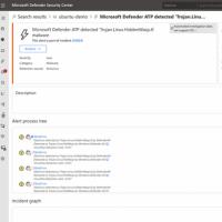 Des fonctions de détection contextuelle des menaces et investigation numérique sont intégrées à la dernière version de Defender pour endpoint Linux. (crédit : Microsoft)