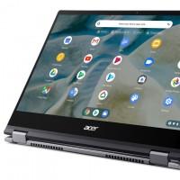 De type convertible, le Spin 514 d'Acer exploite une puce Ryzen pour offrir des performances honorables. (Crédit Acer)
