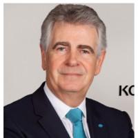 Jean-Claude Cornillet restera président du conseil de surveillance de KMBSF jusqu'à la fin de l'année 2021. Crédit photo : Konica Minolta