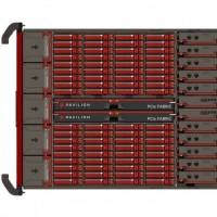Associé à un serveur Nvidia DGX-A100, la baie flash de Pavilion Flash travaille en mode GPUDirect pour accélérer le transfert des données. (Crédit Pavilion Data)
