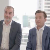 Associés, François Boulet et Cyril Courtin ont fondé HR Path en 2001 sous le nom de CBL Consulting. (Crédit : HR Path)