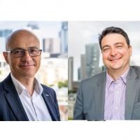 Après l'entrée d'Eurazeo et de Sagard NewGen dans le capital d'I-Tracing, Théodore-Michel Vrangos (à droite) et Laurent Charvériat, ses fondateurs, contrôleront collectivement 49% de l'entreprise. Crédit photo : I-Tracing.