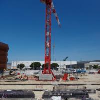 Les travaux de la tranche MSR4 ont démarré sur le port maritime de Marseille, un coût estimé à 125 M€. (Crédit Interxion/Baptiste Le Quiniou) )