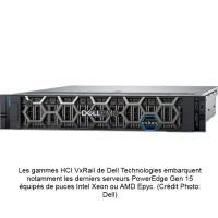 Mise à jour de la gamme hyperconvergés Dell VxRail