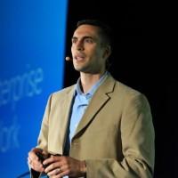 Jared Spataro, vice-président de l'activité entreprise chez Microsoft, a expliqué aux partenaires les subtilités de l'offre Windows 365, (Crédit Microsoft)