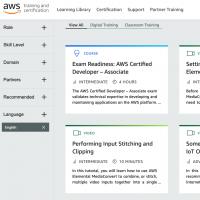 Le programme AWS Training Partner offre des possibilités très variés aux clients du fournisseur de services cloud.