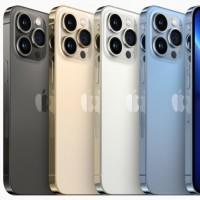 L'iPhone 13 Pro est proposé dans quatre couleurs. (Crédit Apple)