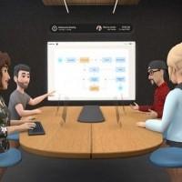 Des initiatives comme celle de Facebook Horizon Workrooms apporte la réalité virtuelle aux réunions. (Crédit Photo : Facebook)