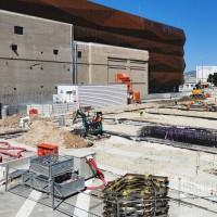 Le site MRS4 d'Interxion à Marseille - ici en mai dernier -  accueillera la région Sud du cloud Oracle. (Crédit S.L.)
