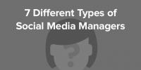 Social Media manager : Lequel êtes-vous parmi ces 7 portraits-type ?
