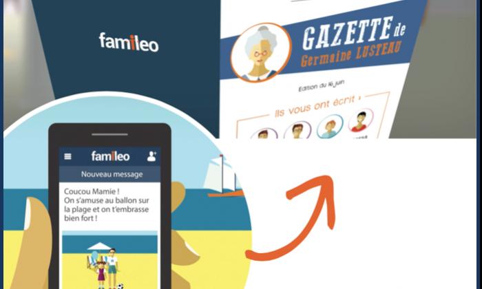 Famileo Le réseau social qui maintien le lien avec les familles des résidents en EHPAD