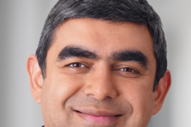 Vishal Sikka, directeur technique de SAP, crédit IDG NS