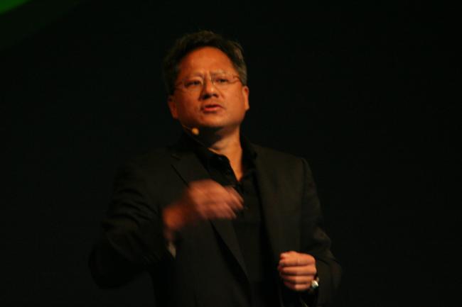 Jen-Hsun Huang, PDG de Nvidia à Beijing, crédit IDG NS
