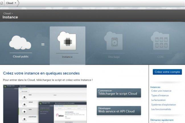 OVH lance sa première offre de cloud public
