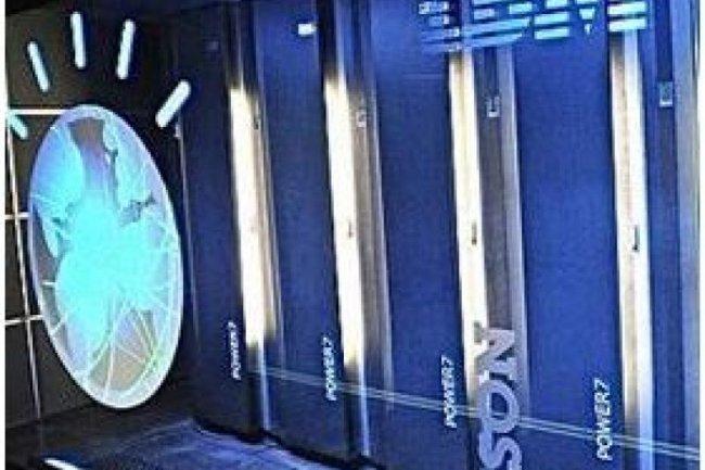 Le supercalculateur Watson d'IBM (crédit : D.R.)