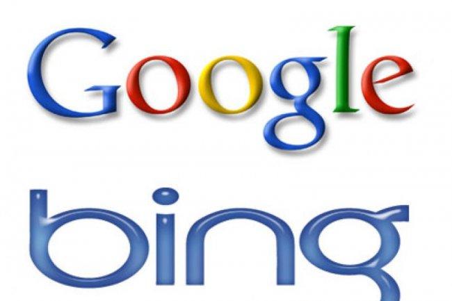 Google et Microsoft aff�tent leurs moteurs de recherche pour 2012