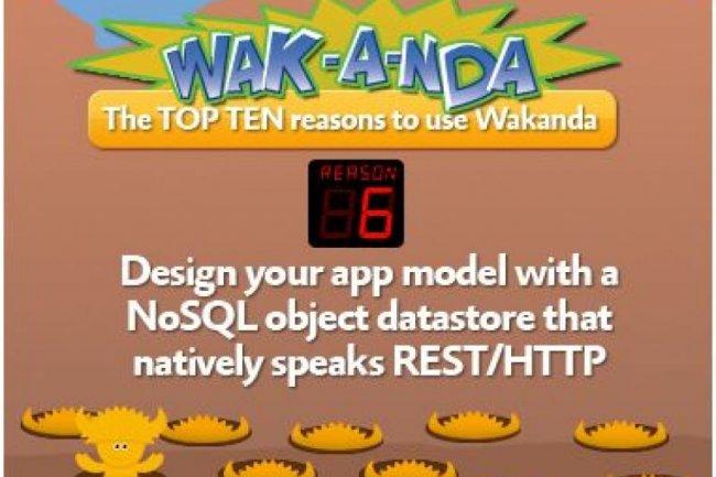 Applications JavaScript et HTML 5 : Wakanda en bêta publique