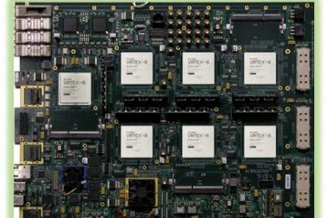 Un prototype de carte mère avec plusieurs puces ARM 64 bits développé par Applied Micro Devices