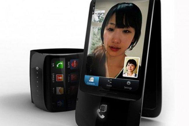 Smartphone flexible Crédit Photo: D.R