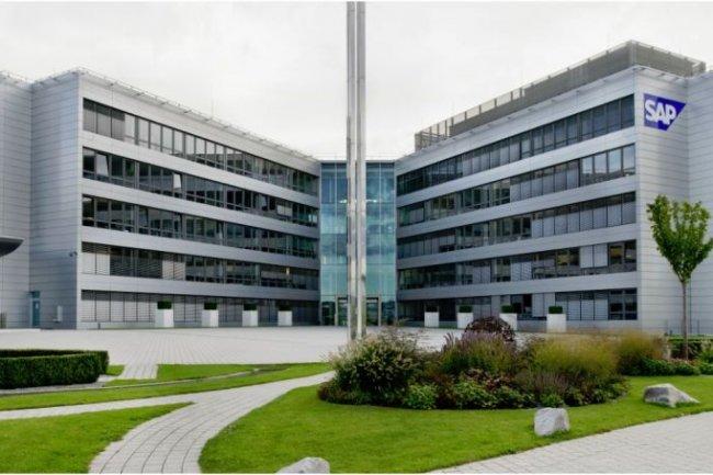 Le si�ge social de SAP � Walldorf (Allemagne). Cr�dit photo : SAP