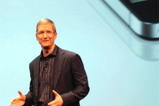 Tim Cook, PDG d'Apple Crédit Photo: IDG NS