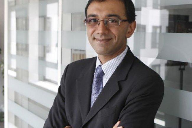 Vivek Badrinath, directeur exécutif d'Orange Business Services, crédit photo Orange