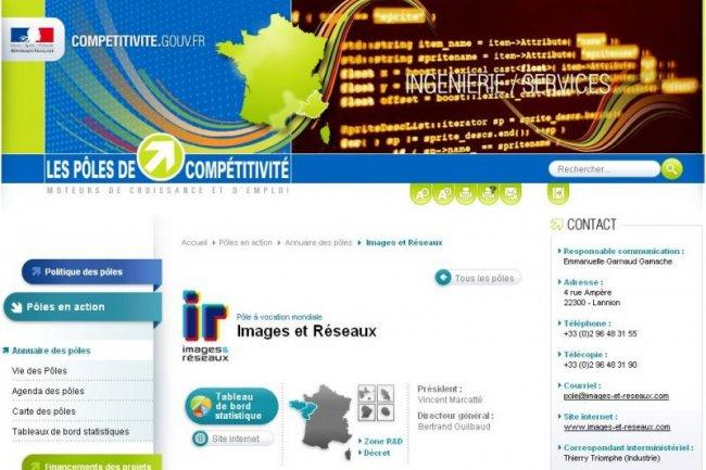 Le site competitivite.gouv.fr