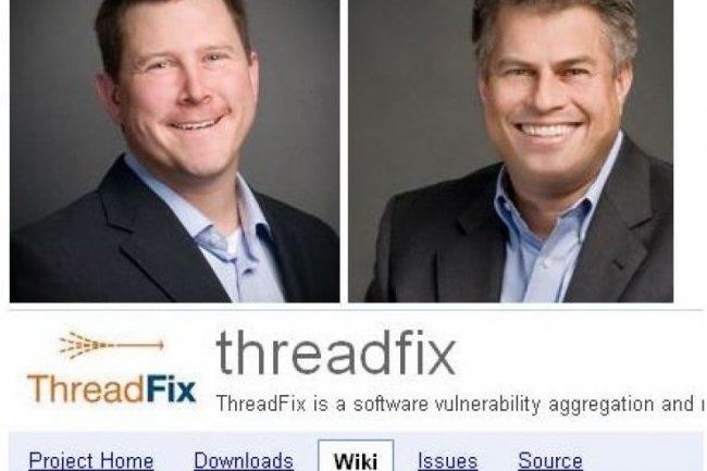 Deux des responsables de Denim Group, Dan Cornell, à gauche, et John Dickson, à droite (crédit : D.R.)
