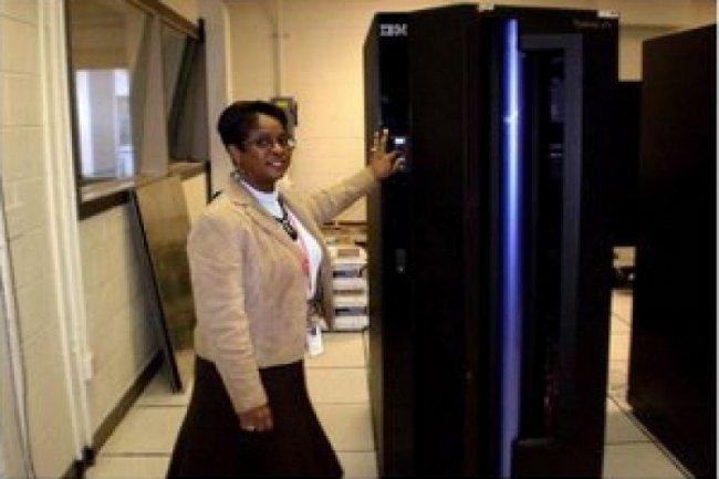 Le dernier mainframe IBM Z9 de la NASA Cr�dit Photo: IBM