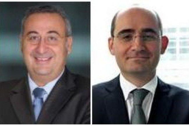 Franck Boutboul, à gauche, Président et CEO de HR Access EMEA, et Xavier Dugazan, DG de la société pour la région Europe de l'Ouest (crédit : D.R.)