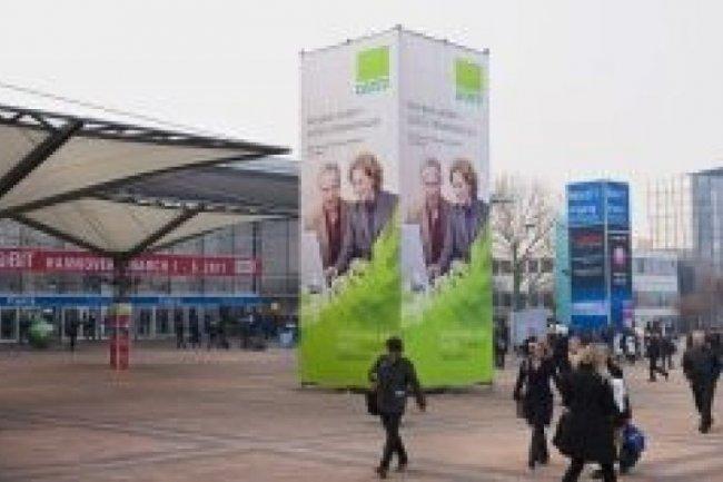 Le Cebit a attiré 339 000 visiteurs en 2011, crédit D.R.