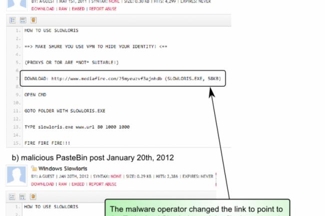 Un outil DDOS trafiqué pour piéger les fans d'Anonymous