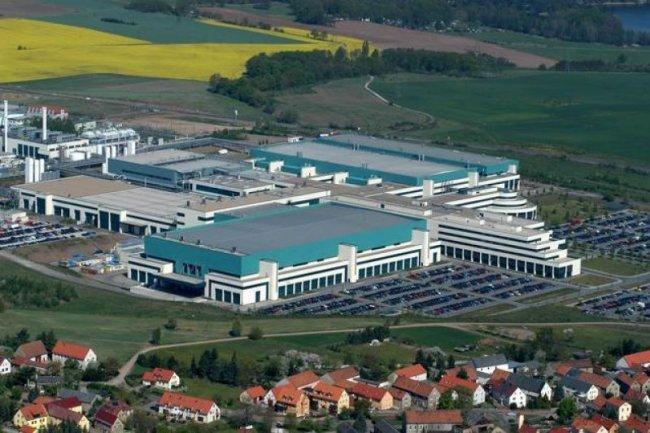 L'usine de GlobalFoundries à Dresde, crédit D.R.
