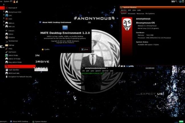 Une distribution Linux proposée par les Anonymous (MAJ)