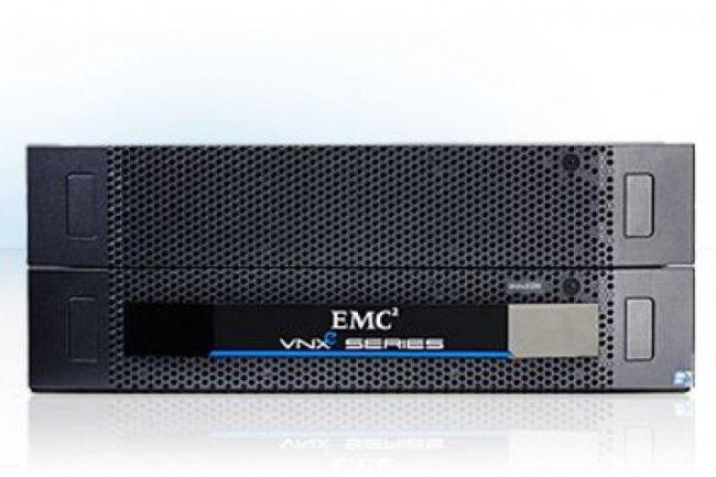 EMC s'adresse notamment aux PME avec sa plateforme de stockage unifié VNXe (crédit : D.R.)