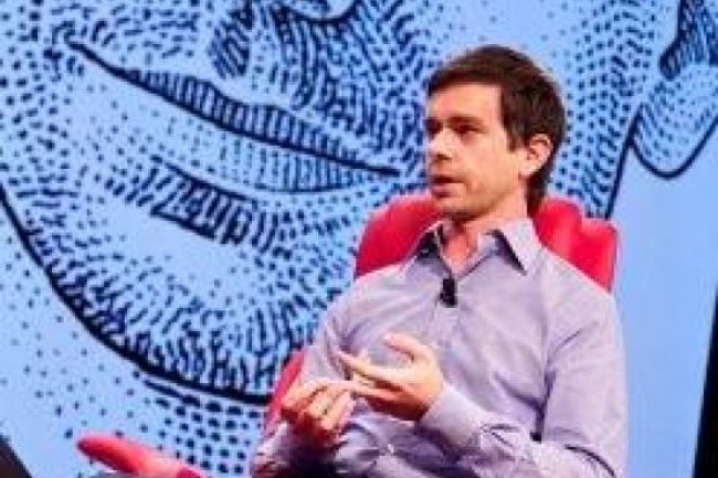 Jack Dorsey, le co-fondateur de Twitter. Crédit AFP photo / Asa Mathat / All things digital