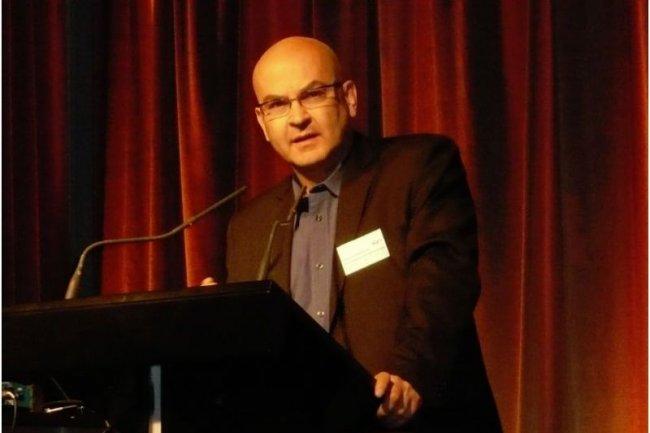 Pascal Guitton, directeur de recherche à l'Inria (crédit photo : M.G.)