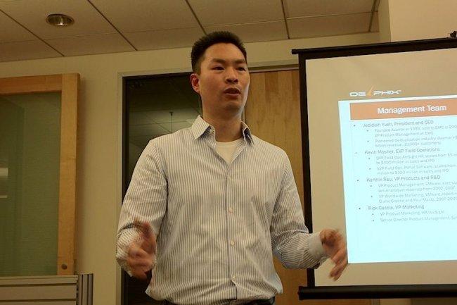 Jedidiah Yuehen, fondateur de Delphix