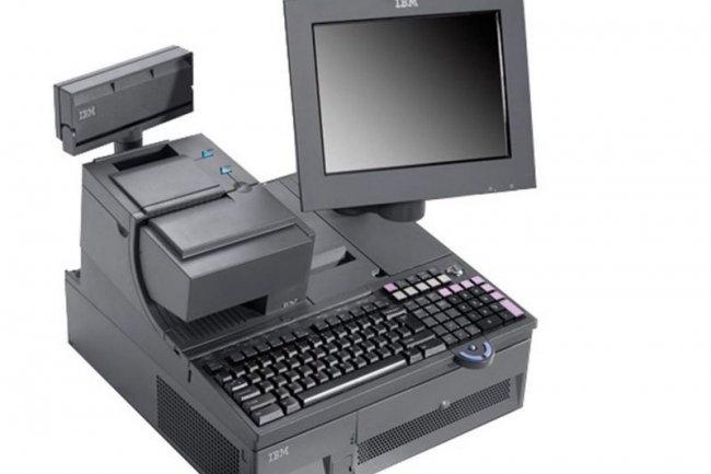 L'un des terminaux PoS (Point of Sale) qu'IBM a c�d�s � Toshiba Tec.
