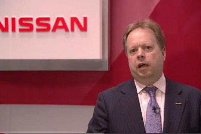Andy Palmer, vice-président du groupe Nissan. Crédit photo: Nissan