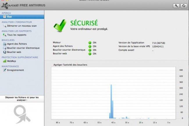 Avast Free Antivirus arrive sur Mac