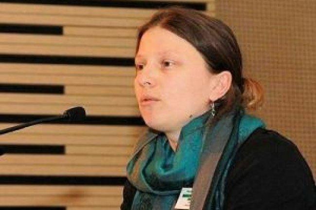 Emmanuelle Bermès, chef du service multimédia du Centre Pompidou. Crédit : D.R